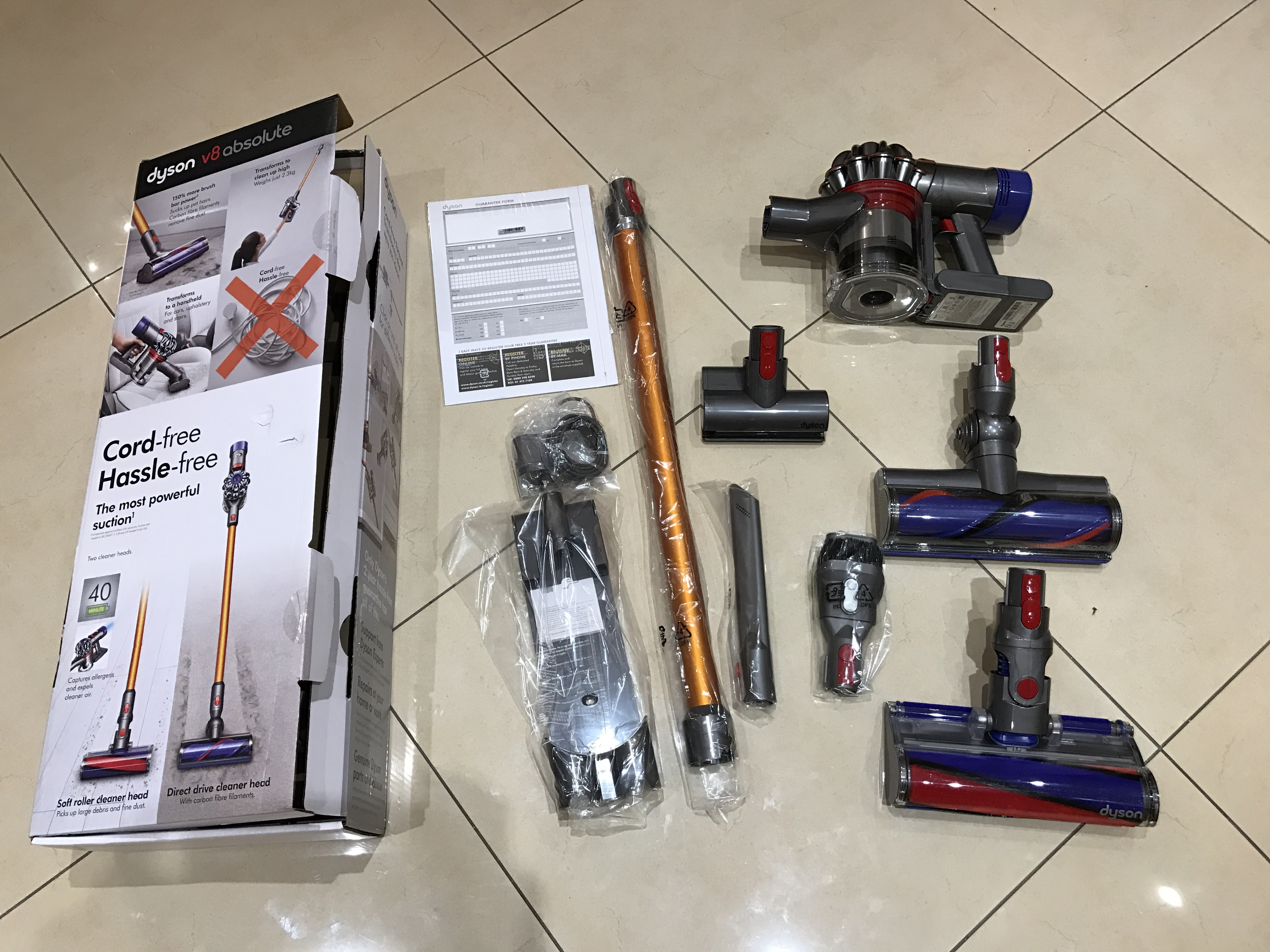 Dyson V8 Review The Dyson V8 Absolute And Dyson V8 Animal